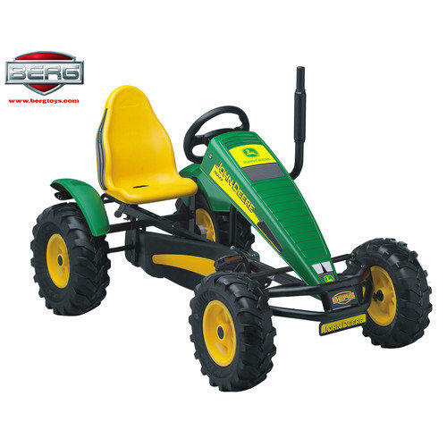Berg Toys John Deere Automatic Freewheel Pedal Tractor