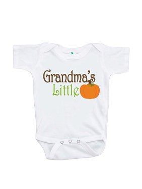 2aa3e2dda ... 7 ate 9 Apparel. Free shipping. Product Image Custom Party Shop Baby's  Grandma's Little Pumpkin Fall Onepiece - 12-18 Month Onepiece