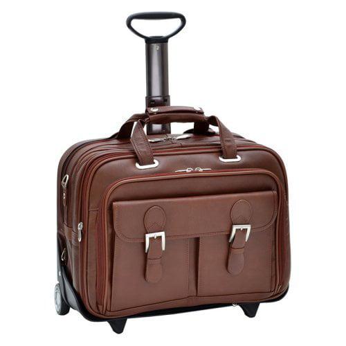 "Siamod Ceresola Checkpoint 17"" Wheeled Laptop Case"