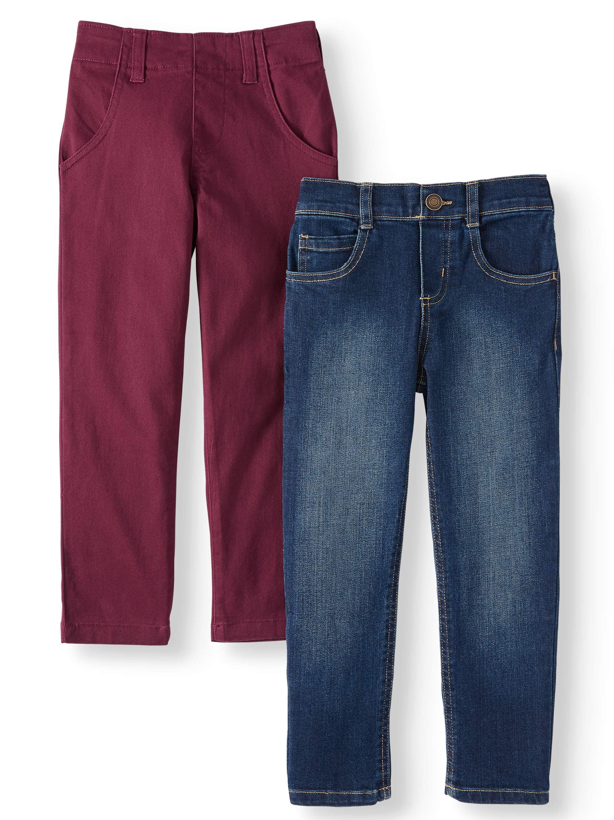 Loose Kids Boys winter Husky Denim boys jeans pants Boys Jeans Toddler Boy Pant 2T-6T