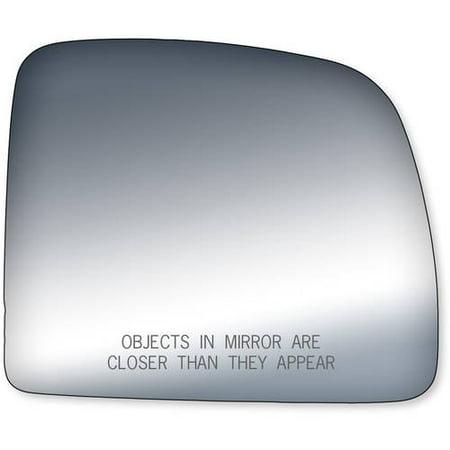90030 - Fit System Passenger Side Mirror Glass, Ford Ranger Pick-Up 93-97, Mazda Pick-Up Base, SX Model 86-02, Swing