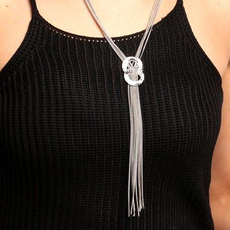 Christmas Clearance! Pendant Chain Statement Jewelry Long Tassel Sweater Necklace KMIMT