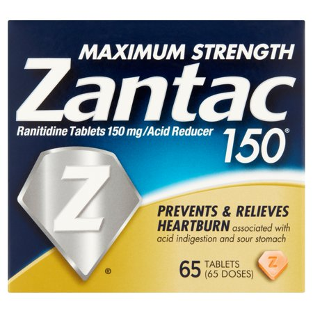 How long does it take for Zantac to work?
