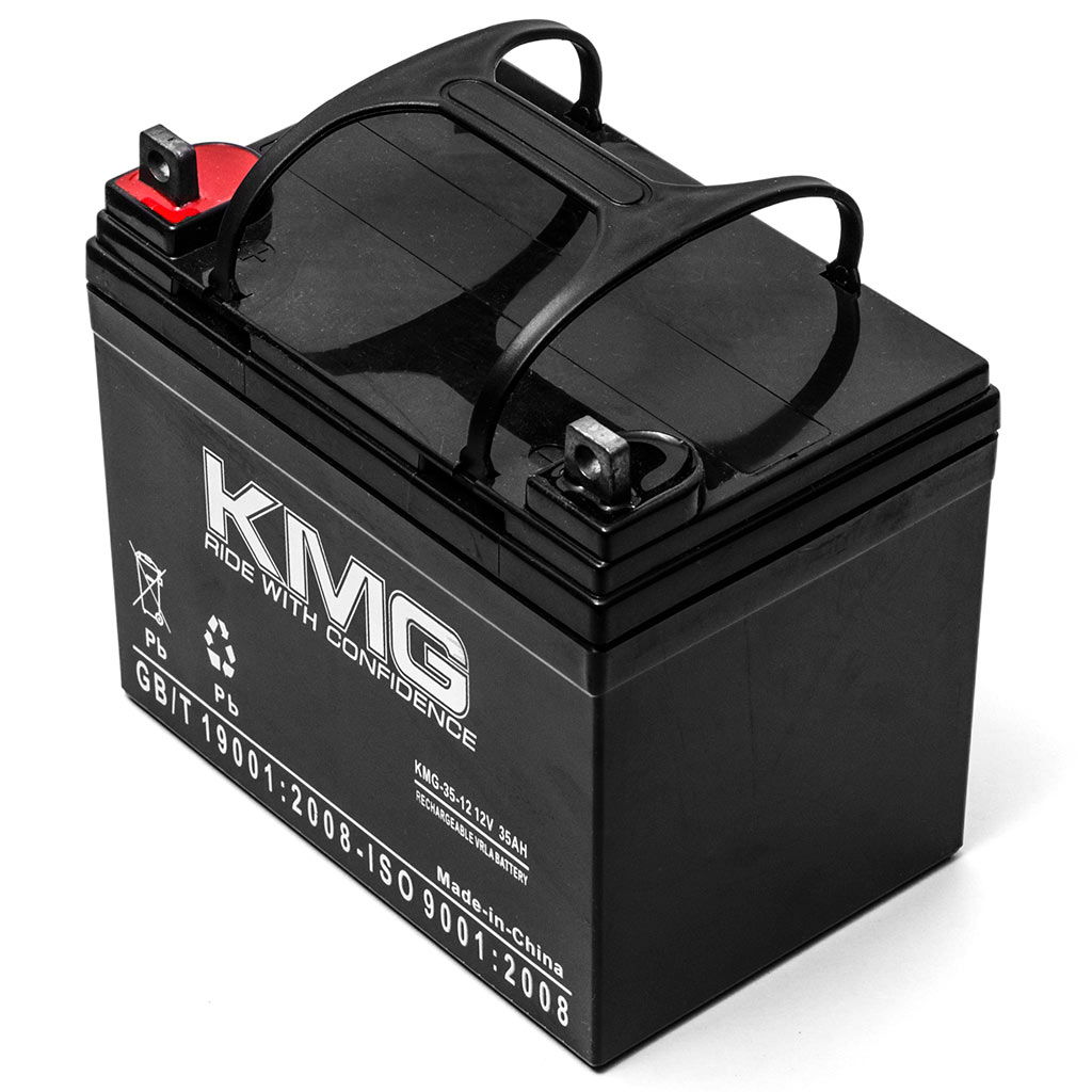 KMG 12V 35Ah Replacement Battery for Hoveround TRANSPORTER GL MPV5 BOLERO - image 1 de 3