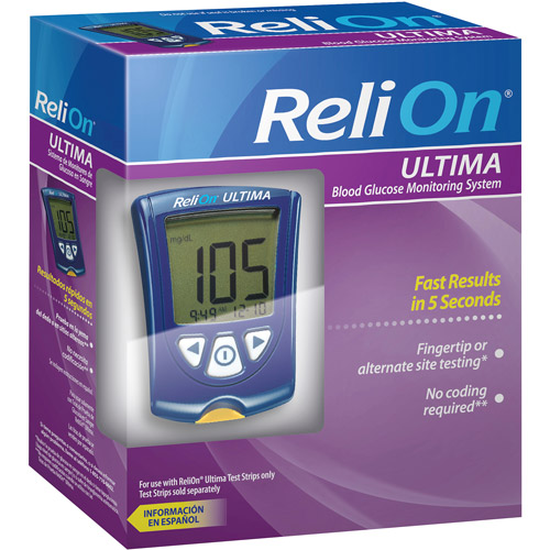 ReliOn Ultima Blood Glucose Monitoring System