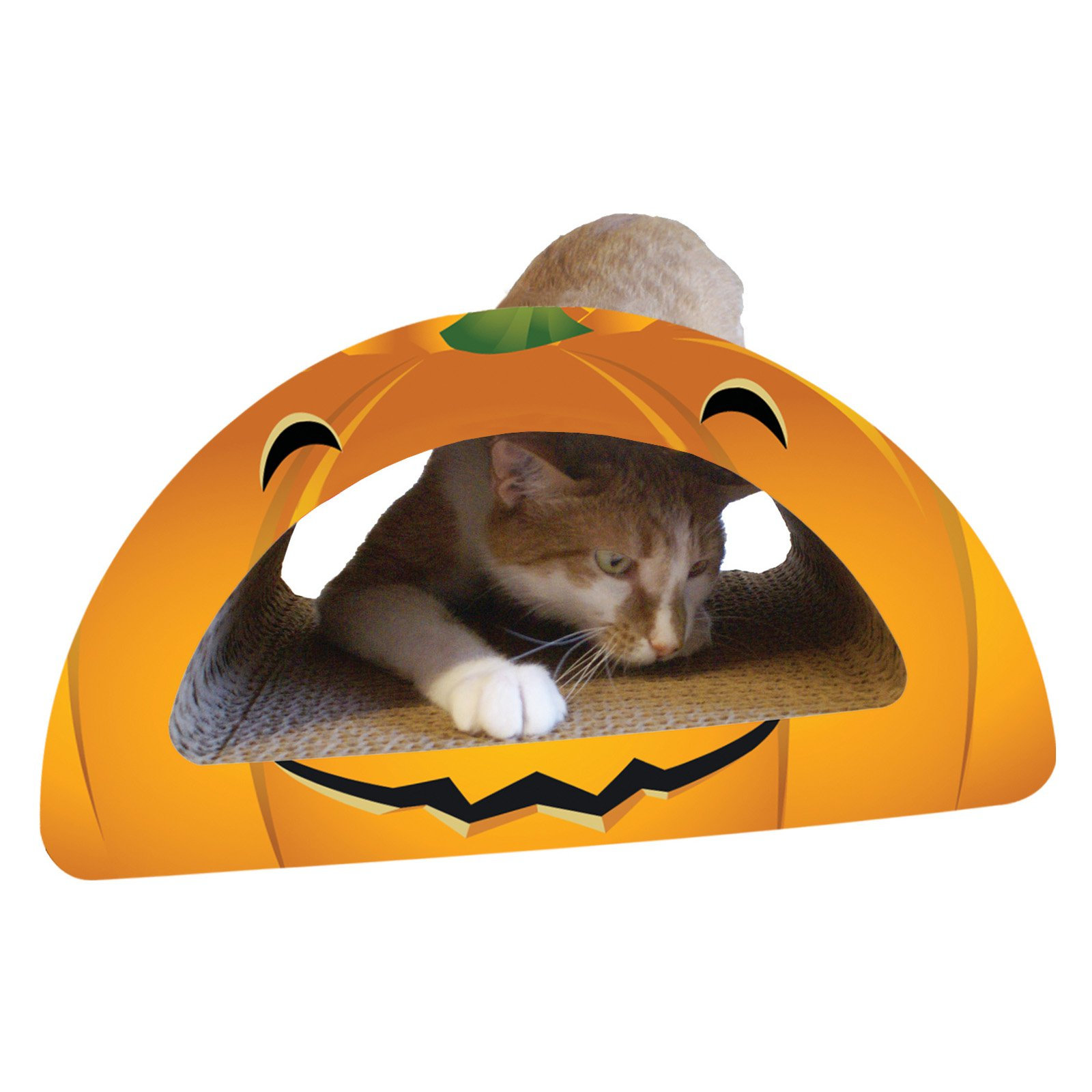 Imperial Cat Holiday Scratch n Shapes - Pumpkin Combo (Round)