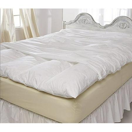 Pillowtex Featherbed Cover 100% Cotton (Queen)