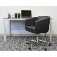 Boss Office Products Black Metro Club Desk Chair Deals