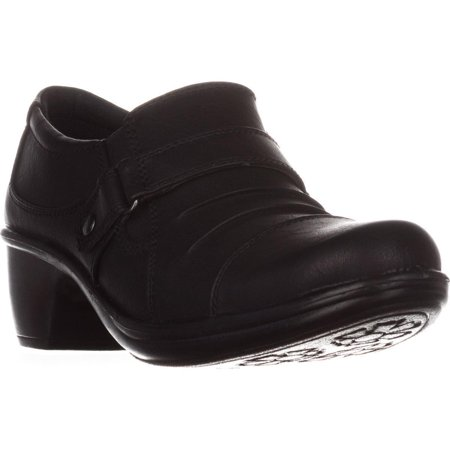 - Womens Easy Street Mika Ankle Boots, Black, 10 US