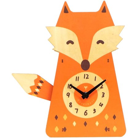 Better Homes & Gardens Fox Pendulum Clock
