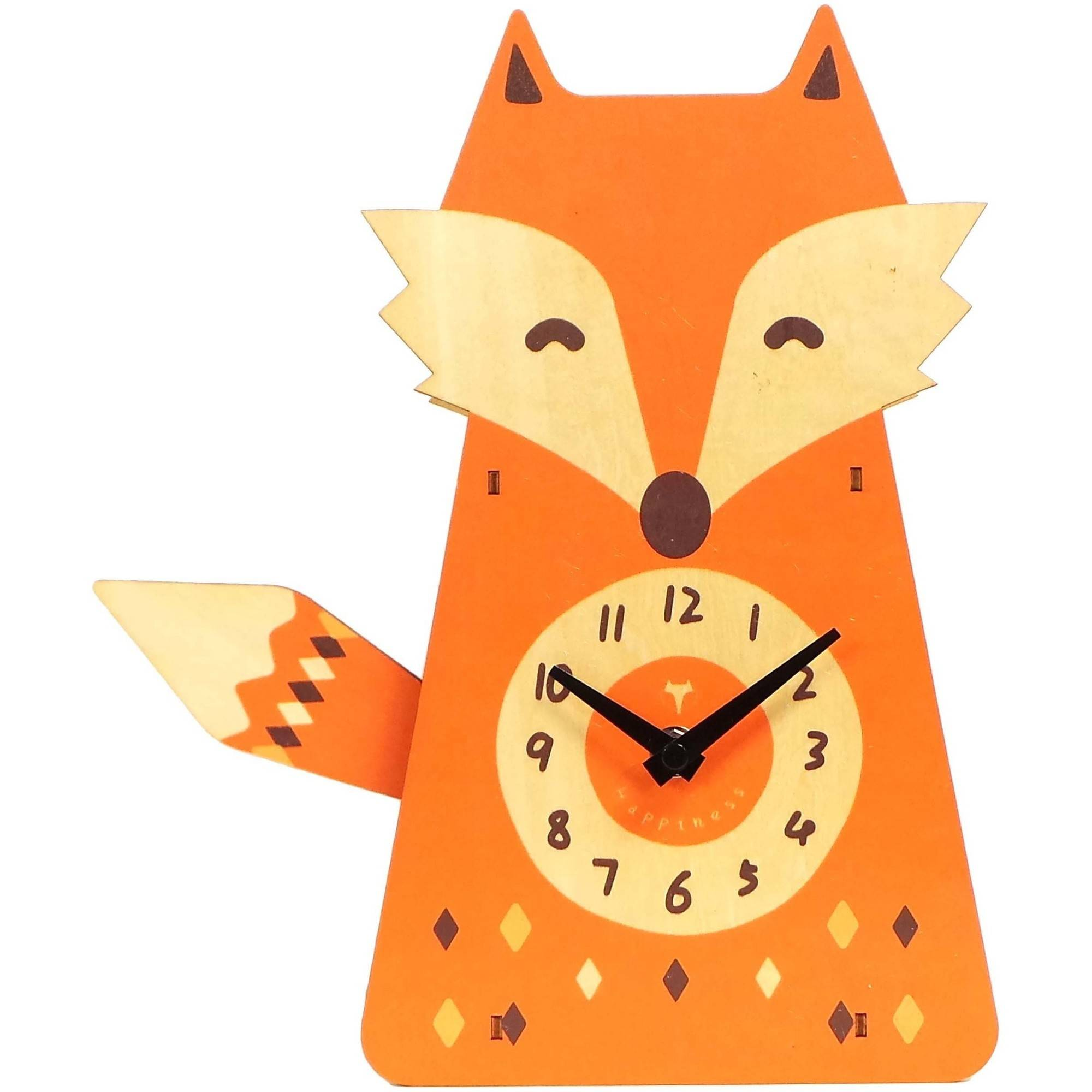 Better Homes and Gardens Fox Pendulum Clock