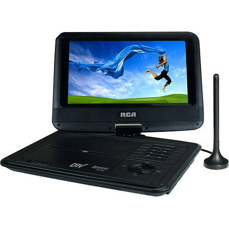 Rca Dpdm95r 9 Portable Digital Tv With Built In Dvd Player Black