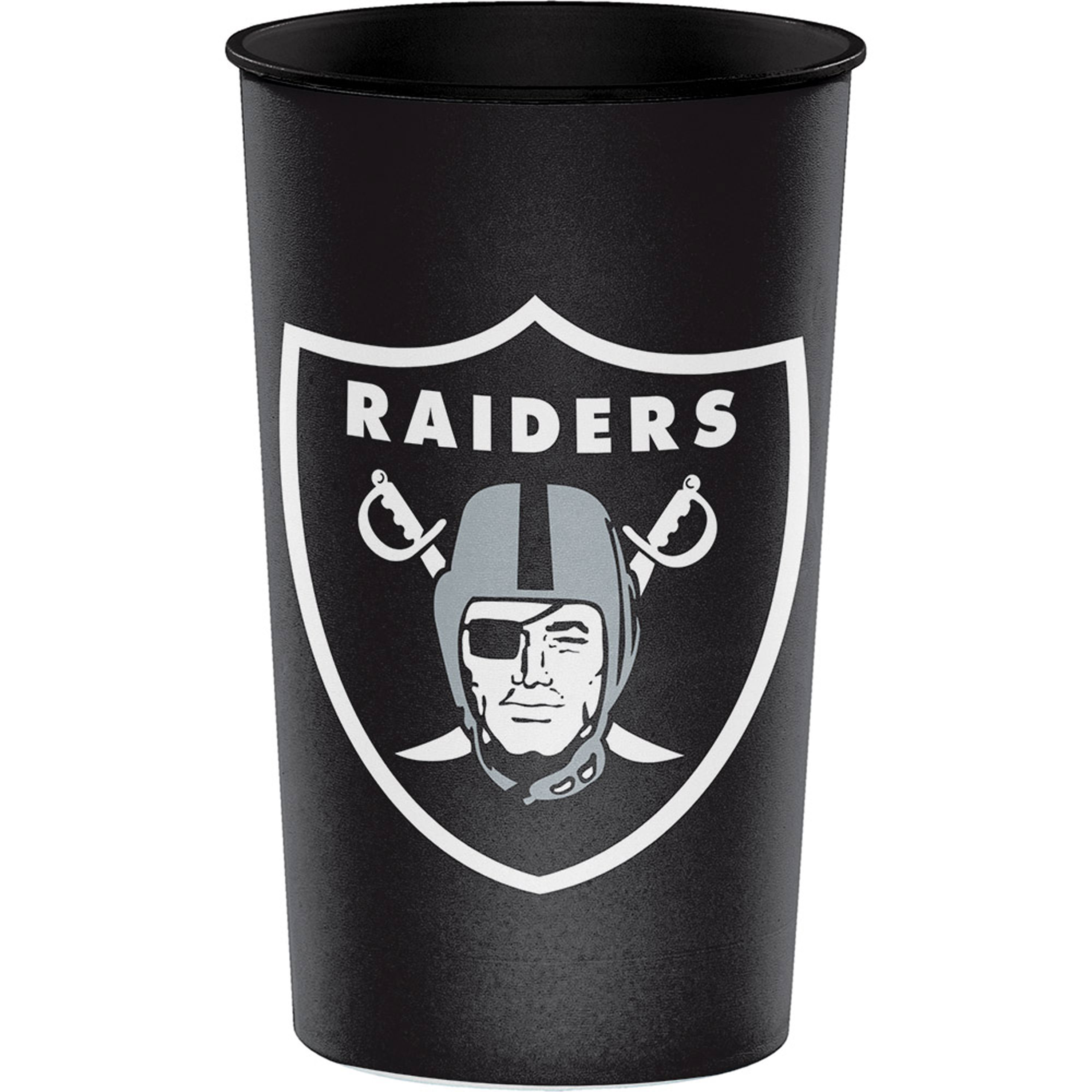 Nfl Oakland Raiders Souvenir Cups, 8 count