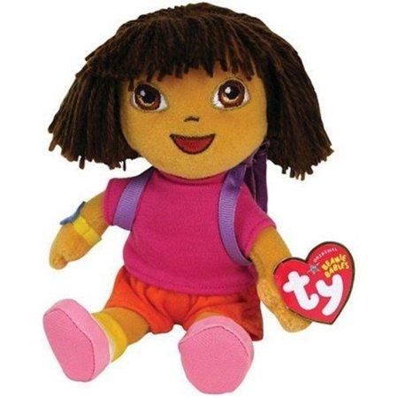 TY Nickelodeon Dora the Explorer Beanie Babies - Walmart.com 15e7aa54de6