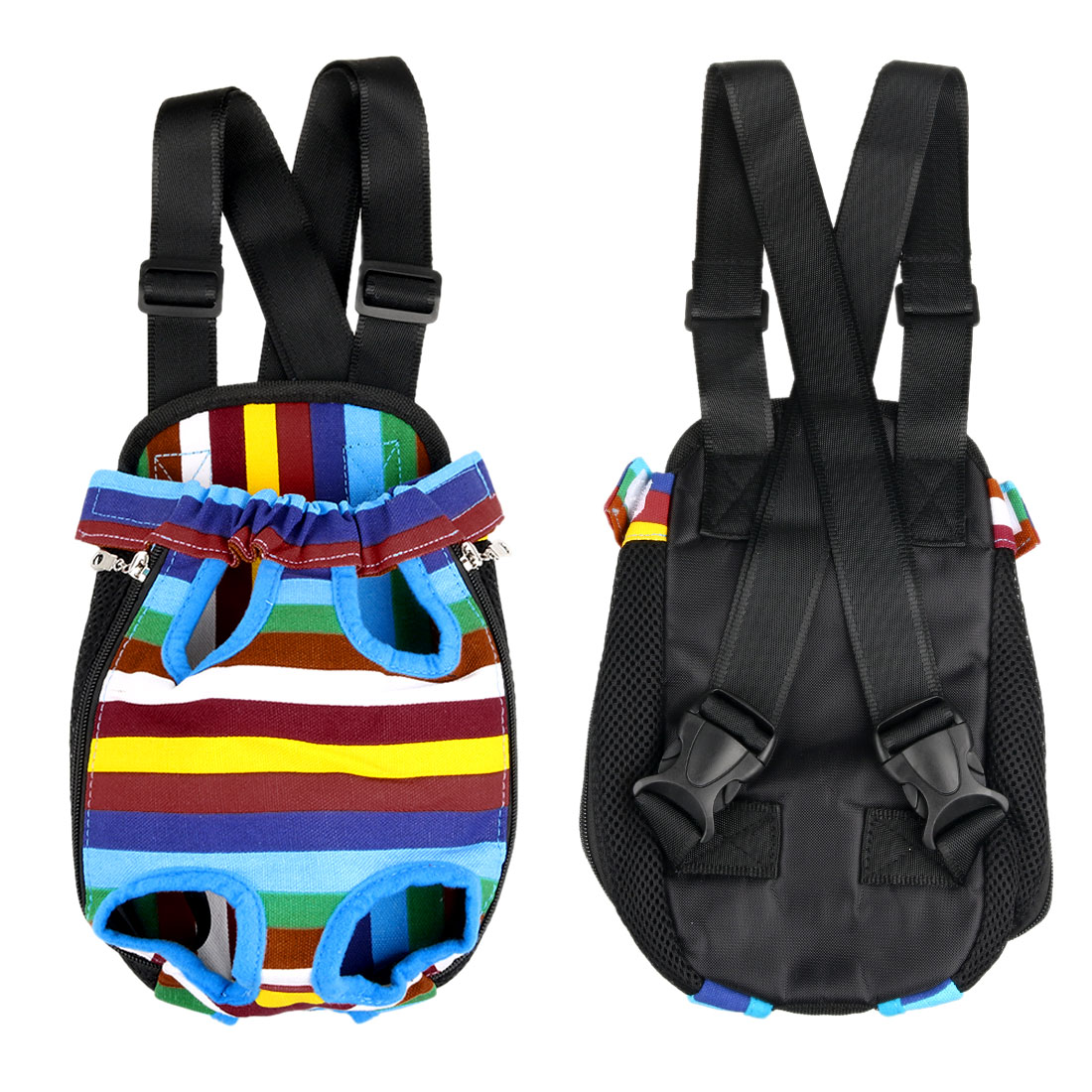 Small Pet Dog Carrier Legs Out Front Chest Backpack Cat Bag Tote for Travel