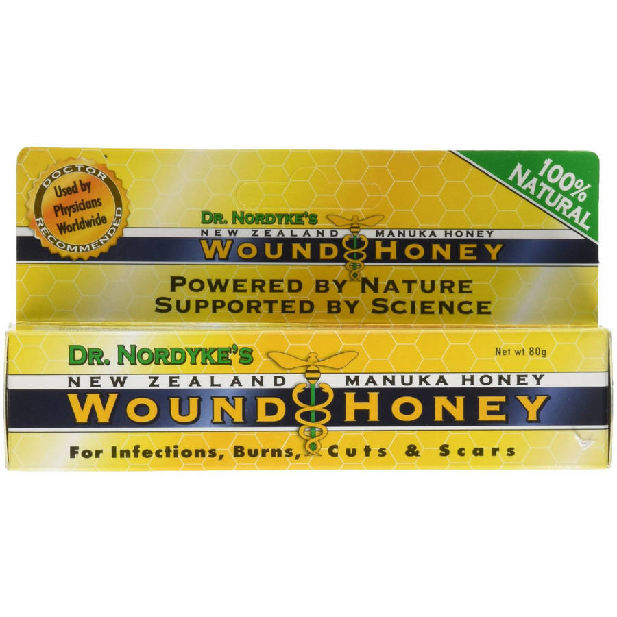 Dr Nordykes Manuka Wound Honey with Aloe, 80 GM