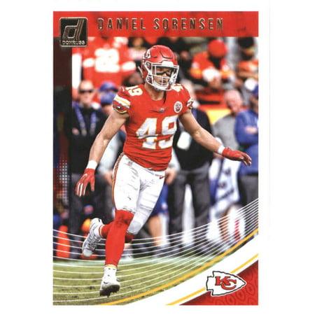 2018 Donruss #145 Daniel Sorensen Kansas City Chiefs Football Card (Glow City Football)