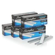 """Swingline Standard Staples, 1/4"""" Length, 5 Box Pack (S7035101)"""