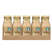 Starbucks Frappuccino Coffee Drink, Vanilla, 9.5 oz Glass Bottles, 15 count