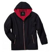 Charles River Apparel Enterprise Jacket, Black/Red, Small