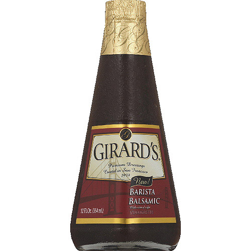 Girard's Barista Balsamic Vinaigrette, 12 fl oz, (Pack of 6)