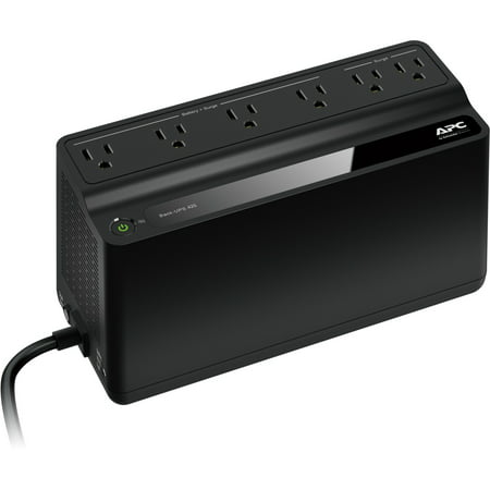 Apc Server Ups - APC 425VA UPS Battery Backup & Surge Protector, APC UPS Back-UPS (BE425M)