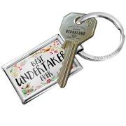 NEONBLOND Keychain Happy Floral Border Undertaker