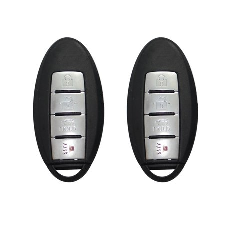 2X Car key for 2014 2015 2016 Nissan Rogue 4BTN Smart Prox Remote KR5S180144106 ()