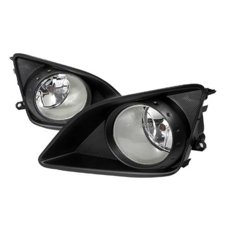 Spec-D Tuning LF-COR07OEM Fog Lights for 09 to 10 Toyota Corolla, Clear - 10 x 12 x 18 in. 09 Toyota Corolla Single