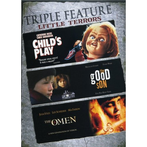 Little Terrors Triple Feature: Child's Play / The Good Son / The Omen (2006) (Widescreen)