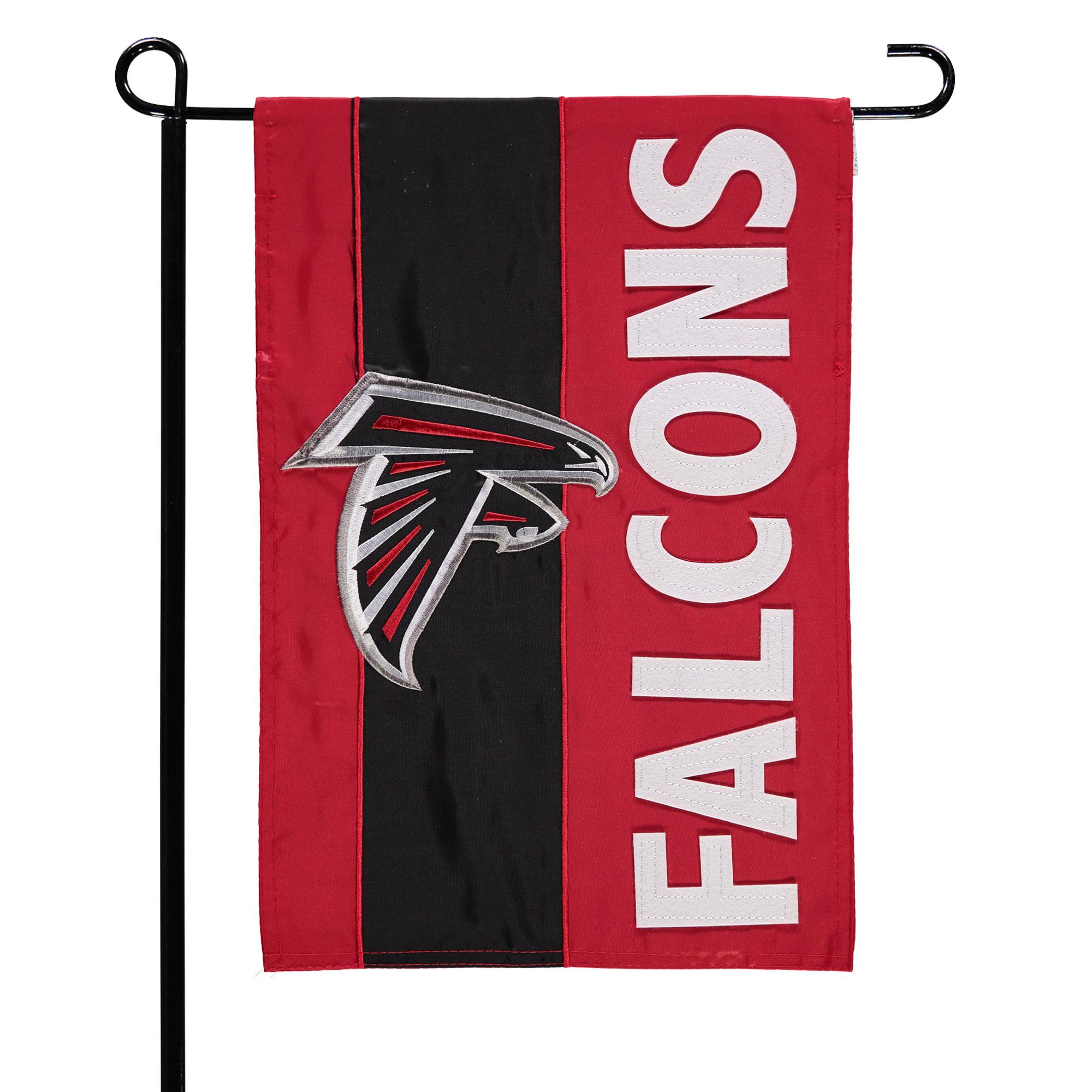 """Atlanta Falcons 12.5"""" x 18"""" Embellish Garden Flag - No Size"""