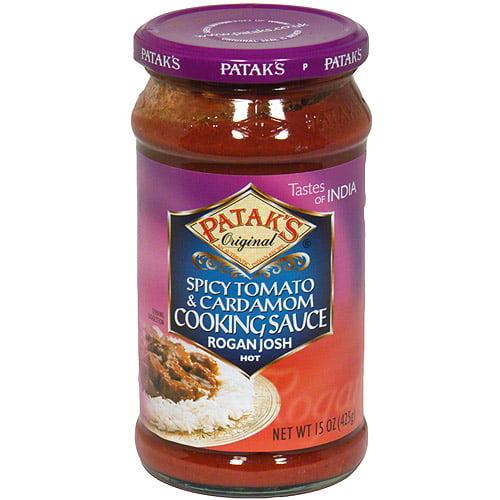 Patak's Rogan Josh Curry Simmer Sauce, 15 oz (Pack of 6)