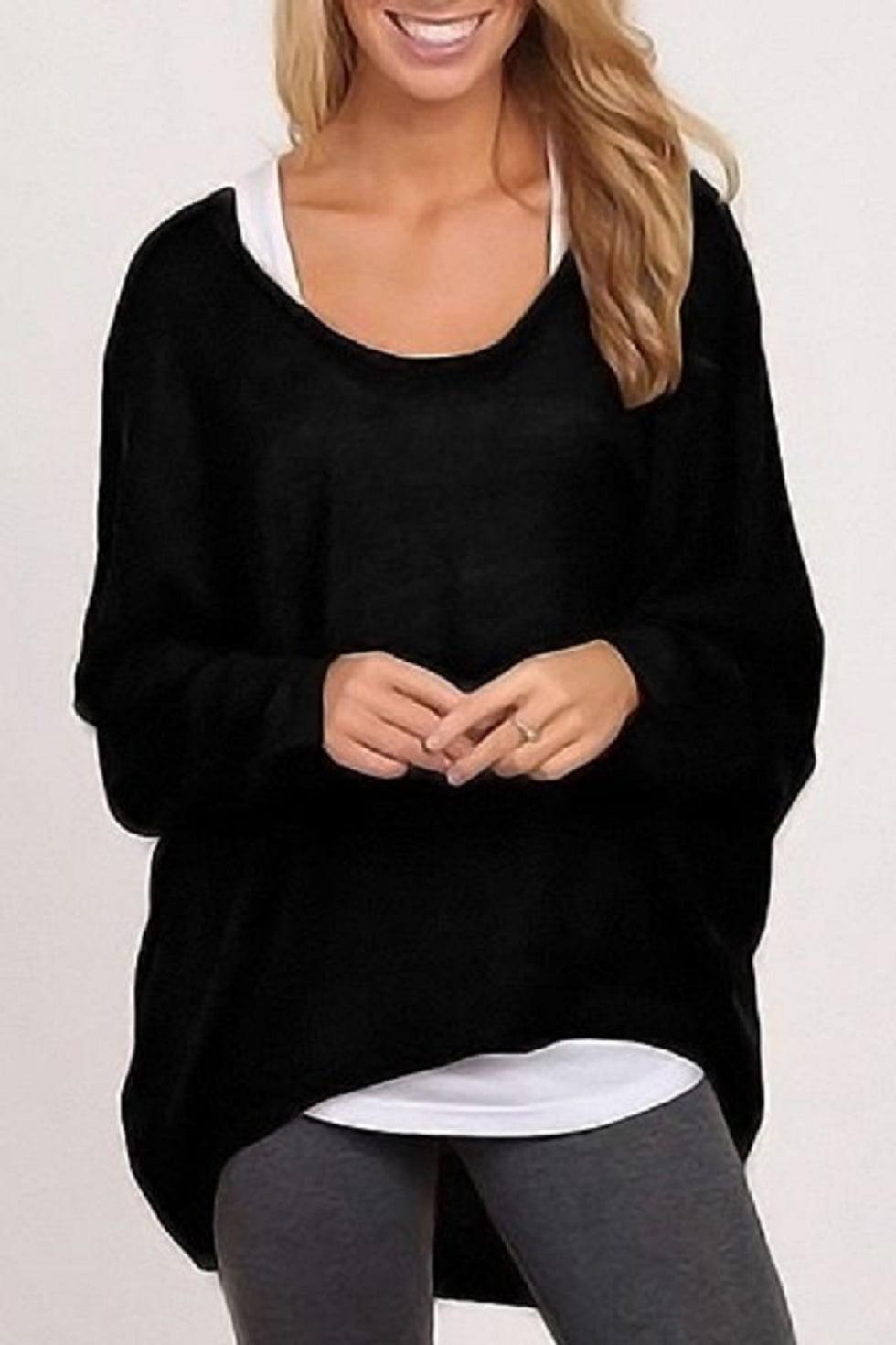 Black Womens Blouses Shirts Walmart Com