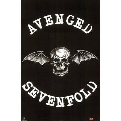 Avenged Sevenfold (Winged Skull) Music Poster Print New 24x36 ()