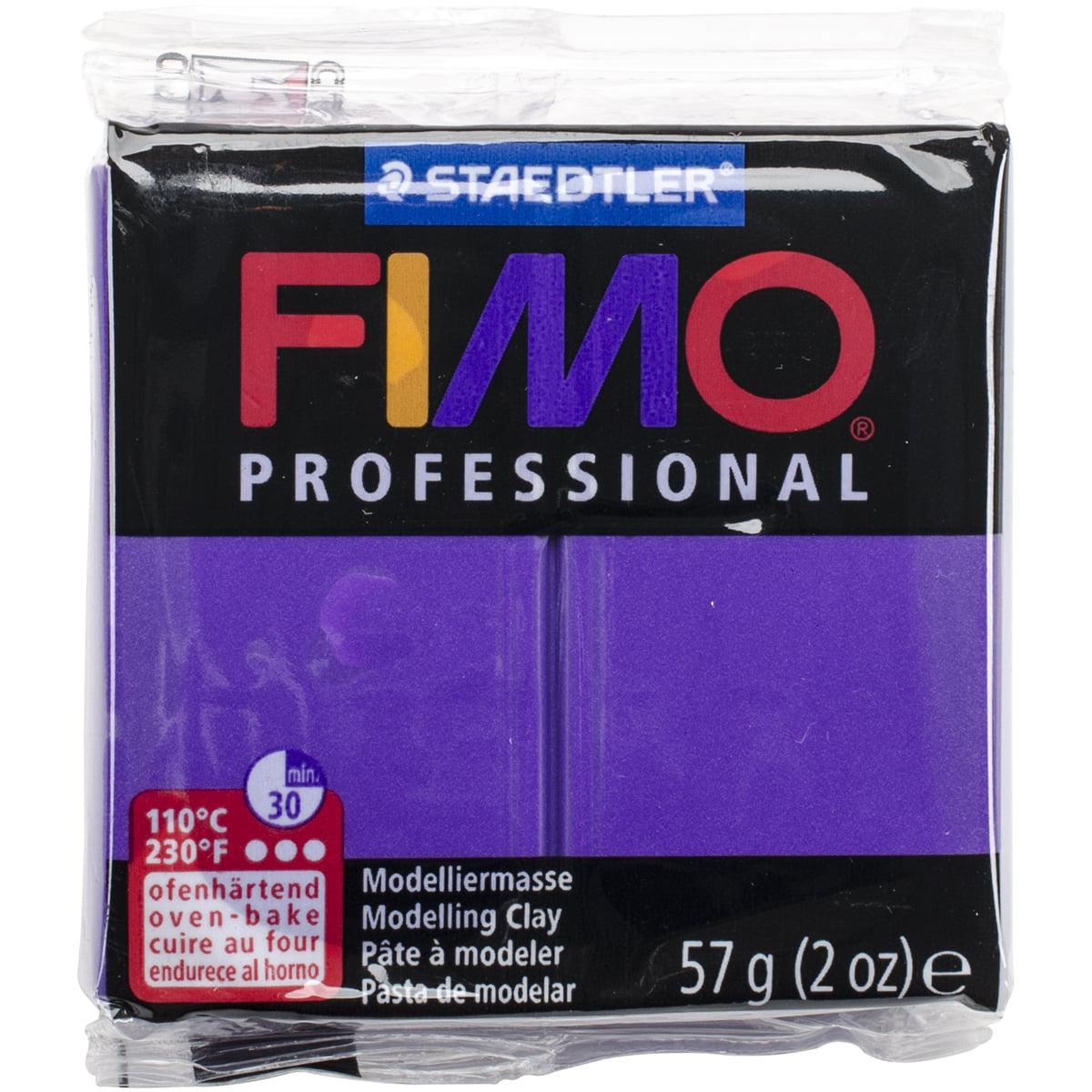 Fimo Professional Soft Polymer Clay 2oz-Purple