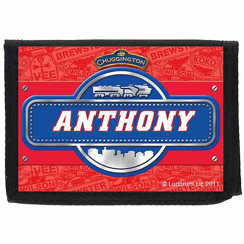 Personalized Chuggington Name Badge Wallet