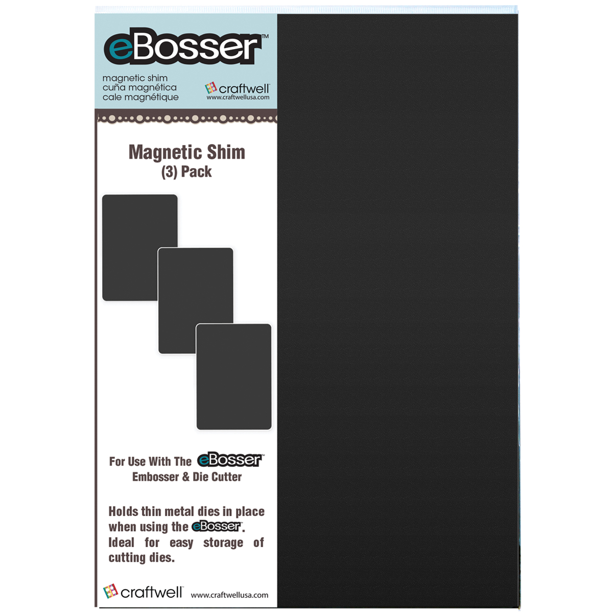 eBosser Magnetic Shims, 3-Pack