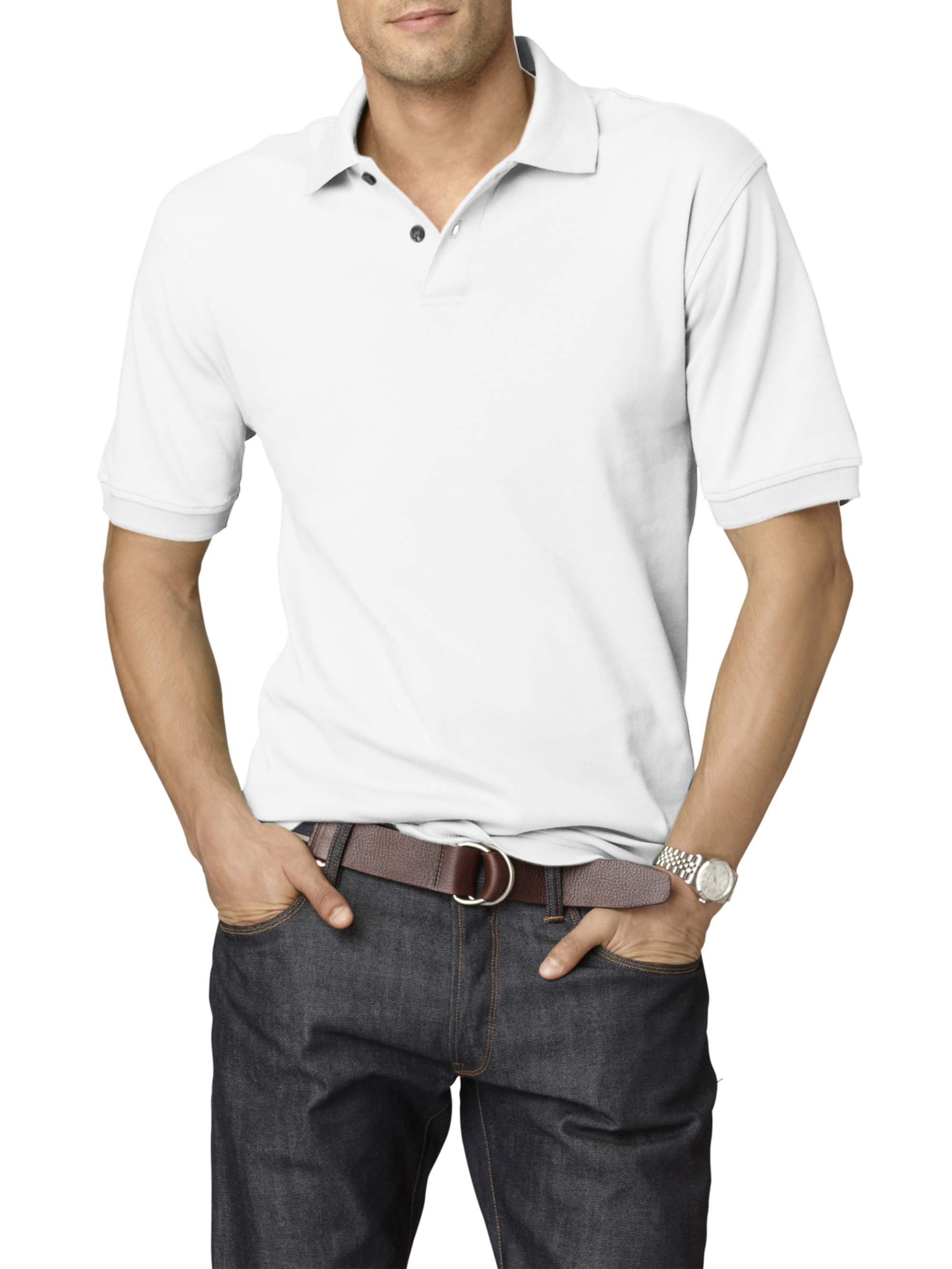Men's Big and Tall Long Sleeve Hamilton Poplin Button Down Shirt