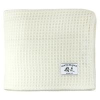 Melange Home Wool Waffle Weave Blanket