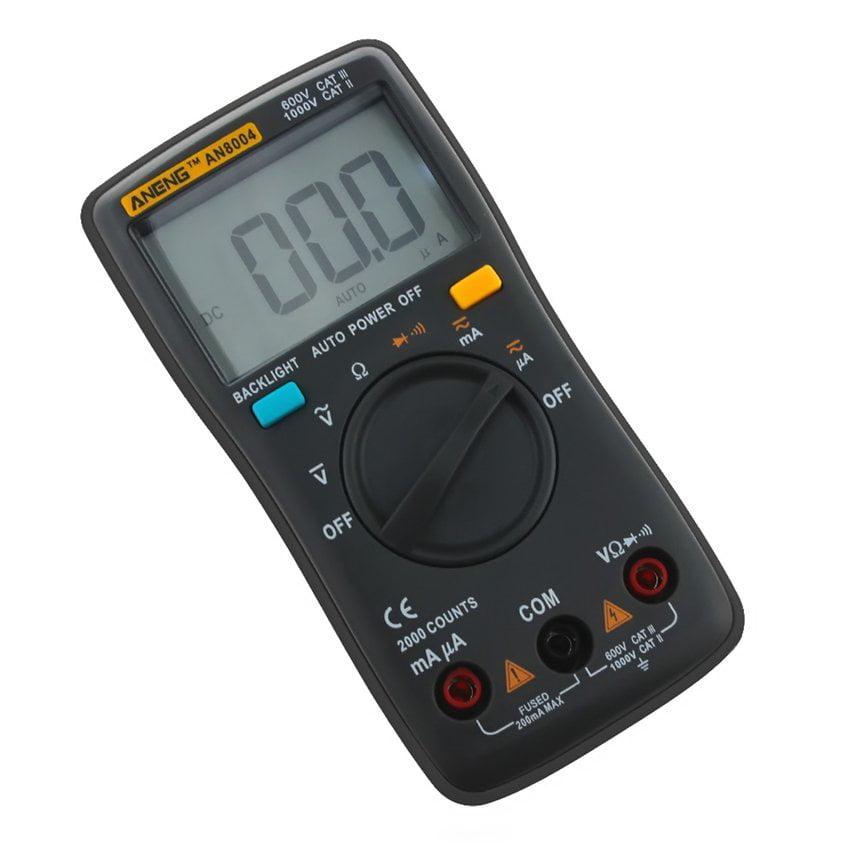 Digital Multimeter Pocket Tester Meter DMM DC AC Current Voltmeter    LCD light