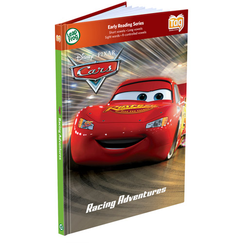 LeapFrog LeapReader Book: Disney�Pixar Cars: Racing Adventures (works with Tag) by LeapFrog