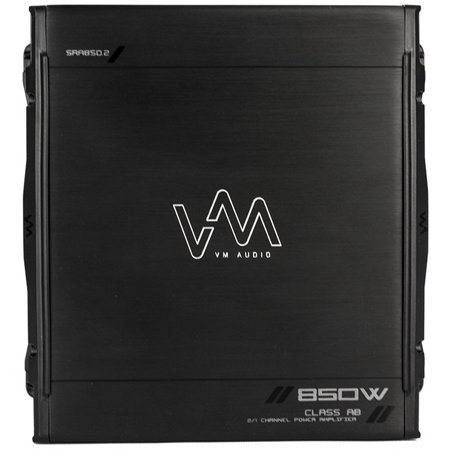New Vm Audio Sra850 2 850W 2 1 Channel Car Amplifier Power Amp Mosfet Stereo