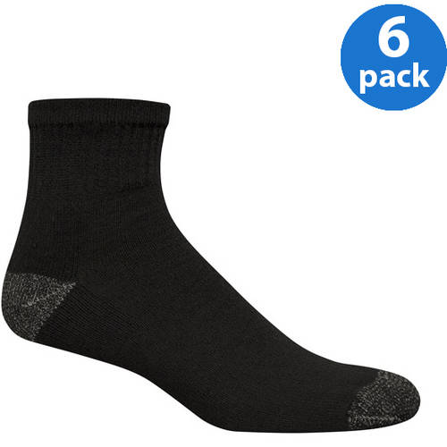 Starter Mens Value Pack Ankle Socks - 6 Pairs