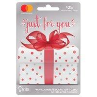MasterCard $25 Gift Card