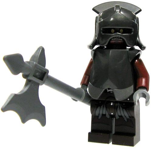 LEGO The Lord of the Rings Uruk-hai Heavy Infantry Minifigure