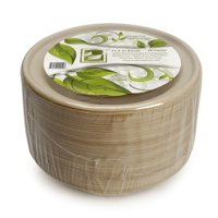 Earth's Natural Alternative Unbleached Compostable Bowl, 12 oz, 50 Count