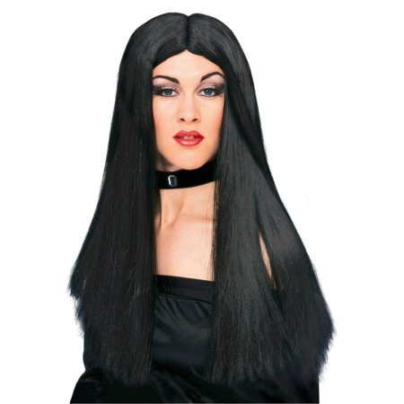 "Witch Wig - Black 24"" - Adult Costume Accessory](Wicked Witch Wig)"