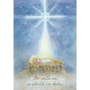 "Jesus Manger Christmas Garden Flag Religious Holiday 12.5"" x 18"" Briarwood Lane"