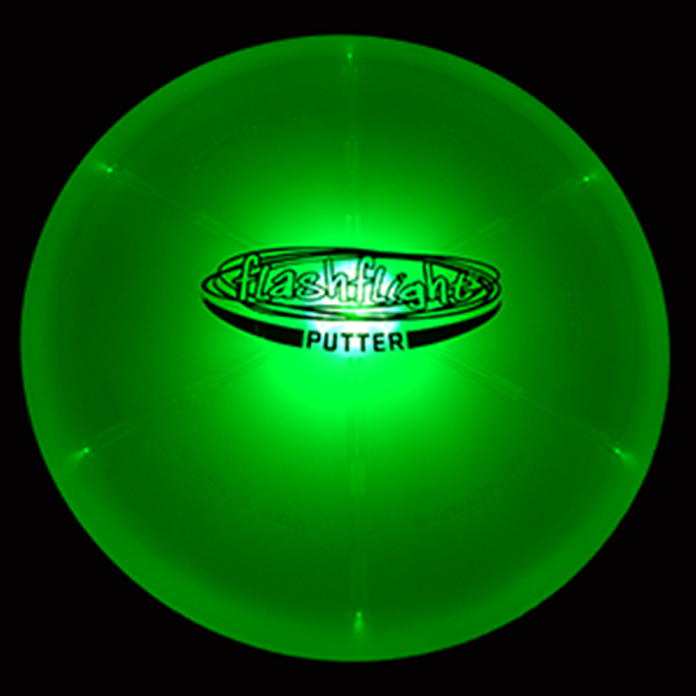 GlowCity Night Play Glow In The Dark LED Flying Disc Golf Frisbee Mid Range by GlowCity