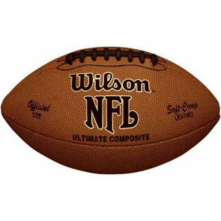 NFL UltimateWalmartposite Game Football (Official Size), Official size and weight. By Wilson Wilson Official Nfl Game Football